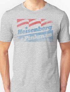 Heisenberg Pinkman Campaign Tee 2012 T-Shirt