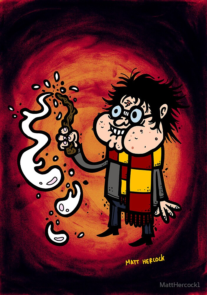 Whoops! My wand went off! by MattHercock1