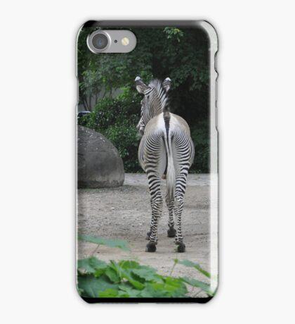 Zebra from Behind iPhone Case/Skin
