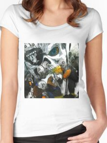 Eye Patch Raider Nation Women's Fitted Scoop T-Shirt