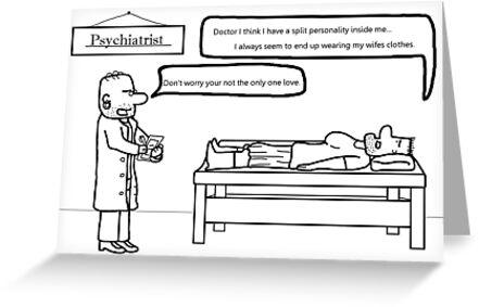A Psychiatrist? by Raymond Lo