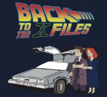 Back to the X-Files by VintageTeeShirt