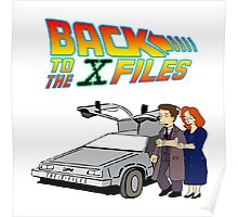 Back to the X-Files Poster