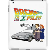 Back to the X-Files iPad Case/Skin