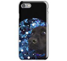 Starry-Eyed Dog Named Izzy iPhone Case/Skin