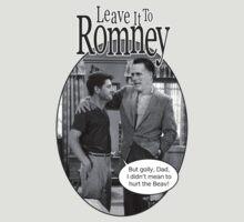 Leave it to Romney b&w by murrica