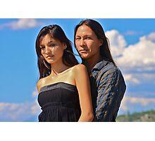 Rick Mora & Taywanee Reevis Photographic Print
