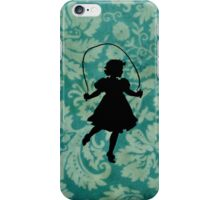 Skipping Girl iPhone Case/Skin