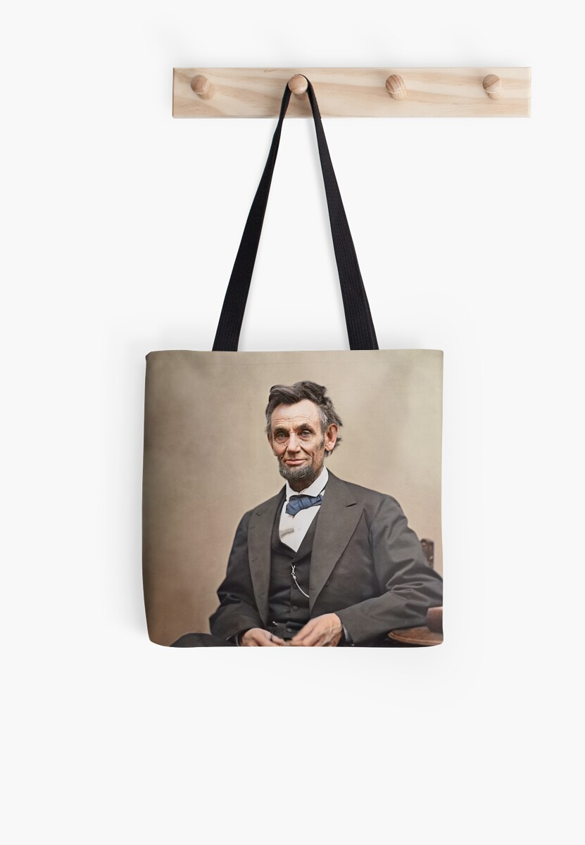 Colorized  - Abraham Lincoln by Sanna Dullaway