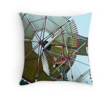 Windmills as Art Throw Pillow