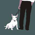 Bull terrier by Matt Mawson