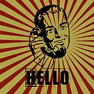 Hello Man  by © Helen Chierego