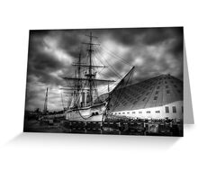 HMS Gannet  at Chatham  Greeting Card