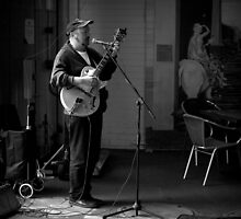 The Market Guitarist by Ben Loveday