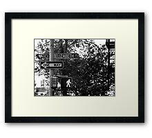 Elizabeth Street Framed Print