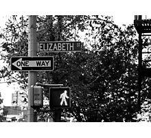 Elizabeth Street Photographic Print