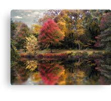 Autumn's Mirror Canvas Print