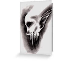 Demon Greeting Card