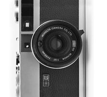Minolta iPhone case by metronomad