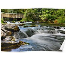 """ Ninemile Creek - Upstate, NY "" Poster"