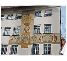 Mural, Nuremberg, Germany Poster