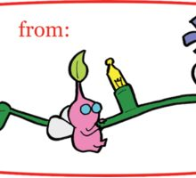 Pikmin Gift Tag Sticker