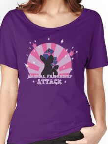 Magical Friendship Attack. Women's Relaxed Fit T-Shirt
