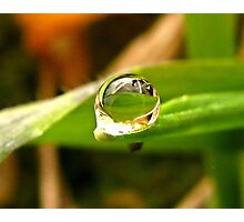 A Drop For YOU Dedicated to My Love, My Husband~ Photographic Print