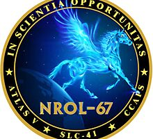 NROL-67 Program Logo by Spacestuffplus