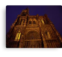 Notre Dame de Strasbourg Canvas Print