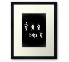 The Brits Framed Print