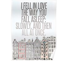 The Way You Fall Asleep Poster