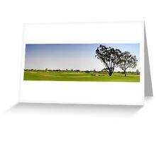 Golf Fairway Greeting Card