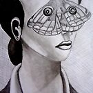 butterfly eyes by Narin Ismail