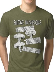 Shiitake Mushrooms Tri-blend T-Shirt