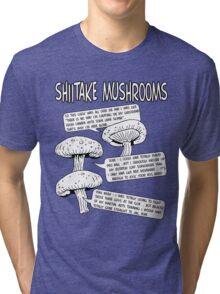 Shiitake Mushrooms Tri-blend T-Shirt