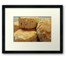 Multitude of Scones Framed Print