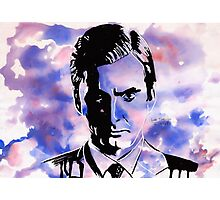 The Purple Man Photographic Print