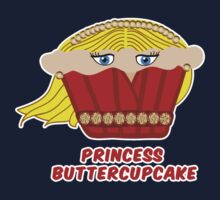 THE PRINCESS BUTTERCUPCAKE parody Kids Tee