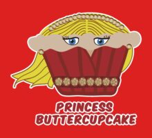 THE PRINCESS BUTTERCUPCAKE parody One Piece - Long Sleeve