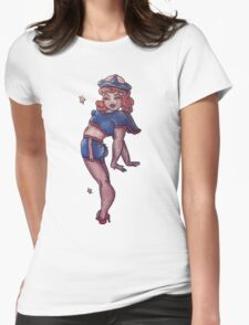 ohhhhhh Womens Fitted T-Shirt
