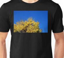 Yellow Autumn Tree Unisex T-Shirt