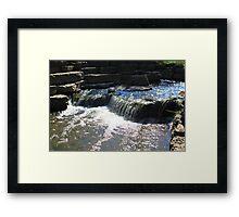 Lisle Waterfall Framed Print