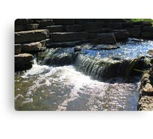 Lisle Waterfall Canvas Print