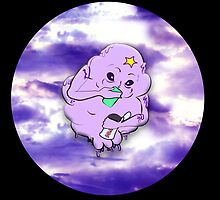 Meanwhile in Lumpy Space on Black by oceanicinks