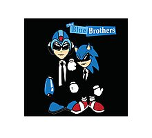 The Blue Brothers Photographic Print