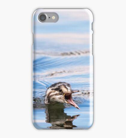 Juvenile Grebe iPhone Case/Skin