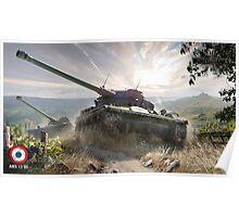 World of tanks - AMX 13 90 Poster