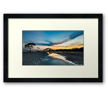 Beautiful Beachmere Framed Print