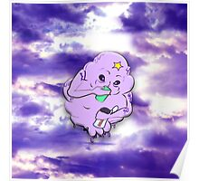 In lumpy space full print Poster